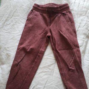 Wine Burgundy Boys Size 5 Track Pants Old Navy